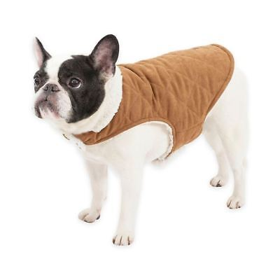 Faux Suede Reversible Small Dog Coat by UGG