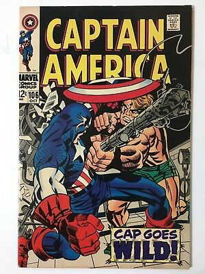 Captain America 106 - First Appearance of Life Model Decoy (LMD) VF/NM