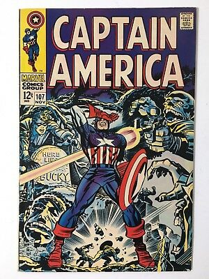 Captain America 107 - First Appearance of Doctor Faustus NM-