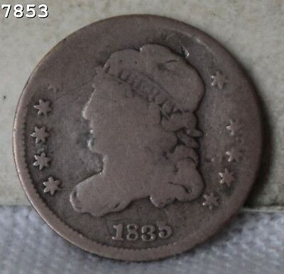 1835-SD Capped Bust Half Dime *Free S/H After 1st Item*