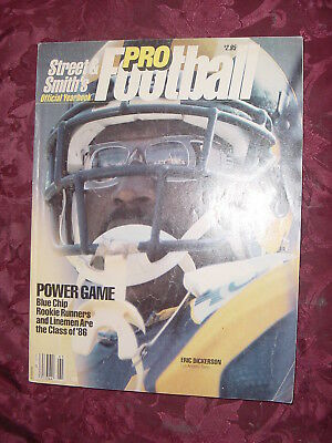 STREET & SMITH's NFL Pro Football Official YEARBOOK 1986 Eric Dickerson