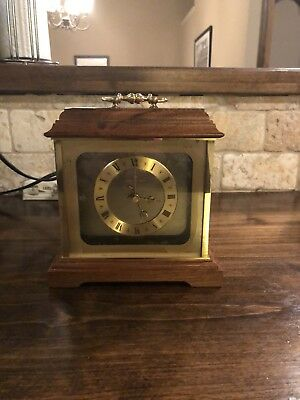 Hamilton Quartz Desk Clock Made In Germany