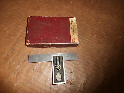 Starrett No. 13 -  4 Inch Double Square With Box