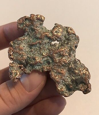 1 oz. NATIVE MICHIGAN COPPER ORE NUGGET JEWELRY MAKING SUPPLY SPECIMENS NATURAL