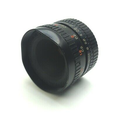 Fuji HF16A-2 Fujinon-TV Machine Vision Camera Lens 16mm F1.4-16 C-Mount *Dents*