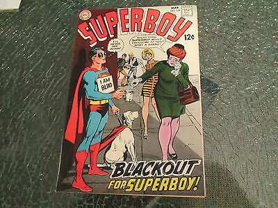 High Grade Nm- (9.2) Superboy #154 Mar. 1969-Neal Adams Cover