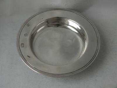 Solid Sterling Silver Armada Dish 1995/ Dia 11.6 cm/ 95 g