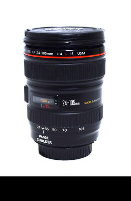 Canon Zoom Lens EF 24-105mm Image Stabilizer Ultrasonic 1:4 L IS USM (1578)