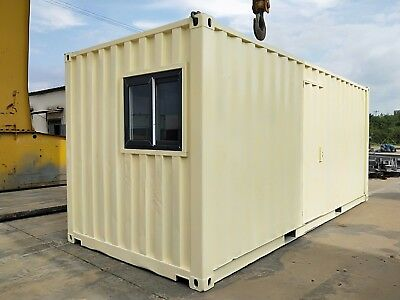 Shipping Container Bathroom/Shower Equipment Electricity