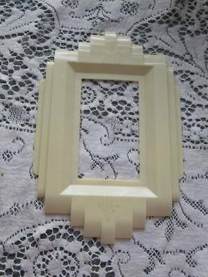 Vintage 1920's-30's Art Deco Plastic Switch Plate Backing Cover