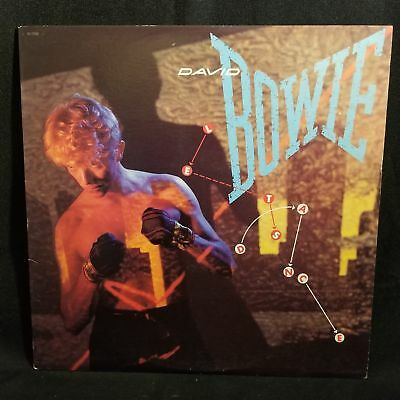 David Bowie Let's Dance LP NM 1983 Original Press EMI SO-17093 China Girl Pop...