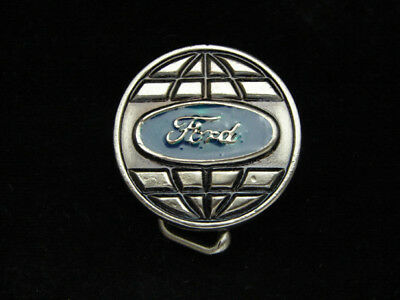 OE21117 *NOS* VINTAGE 1970s **FORD** MOTOR COMPANY CAR AUTO PEWTER BELT BUCKLE