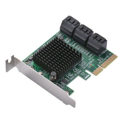 PCI-E to SATA 3.0 6-Port 6G Expansion Controller Card Adapter for Desktop AC1723