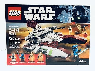 LEGO Star Wars Republic Fighter Tank #75182 Ages 8-14 305 Pieces