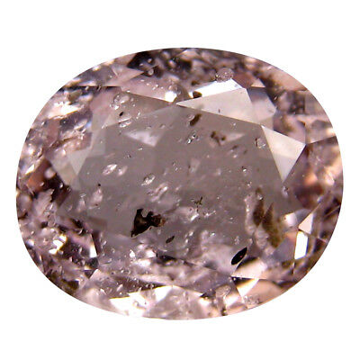 3.64 ct Extraordinary Oval Cut (11 x 9 mm) Un-Heated Fancy Light Pink Morganite