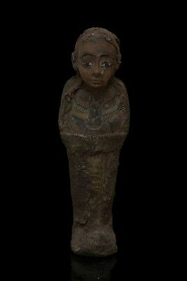 Ancient EGYPT EGYPTIAN STATUE ANTIQUE Shabti Ushabti Mummy Carved STONE 3000 BC
