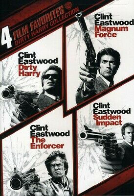 4 Film Favorites: Dirty Harry Collection Dvd - 4 Film Favorites: Dirty Harry Col