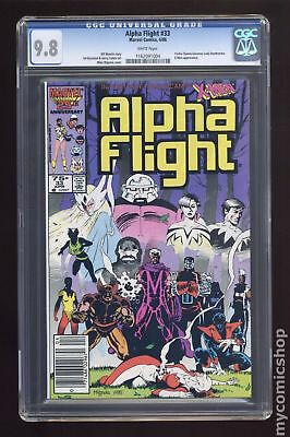 Alpha Flight (1st Series) #33 1986 CGC 9.8 1162091004