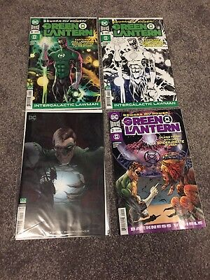 Grant Morrison Green Lantern Issue 1 , 2 And Variants