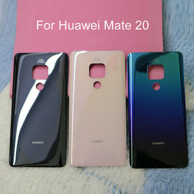Glass Back Battery Door Housing Cover Panel Replacement For Huawei Mate 20/20Pro