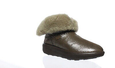 2da9bc1b756 NEW FITFLOP WOMENS Mukluk Shorty 2 Desert Stone Snow Boots Size 9 ...