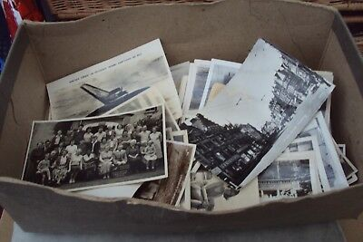 Job Lot Of Old Postcards & Some Old Family Photos Included.