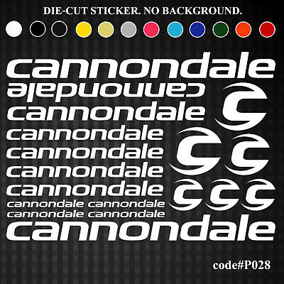 CANNONDALE Headshok Fatty Forks Decals Stickers Graphic Set Logo Adhesive