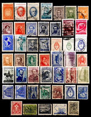 Argentina: Classic Era To 1940's Stamp Collection