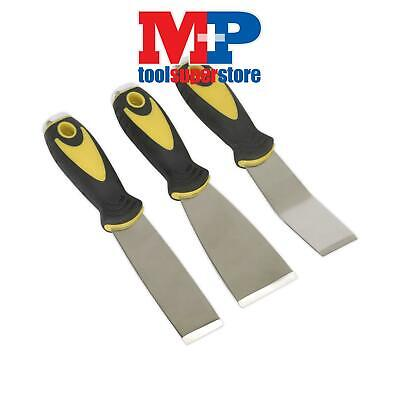 Sealey S0856 Scraper Set with Hammer Cap 3pc