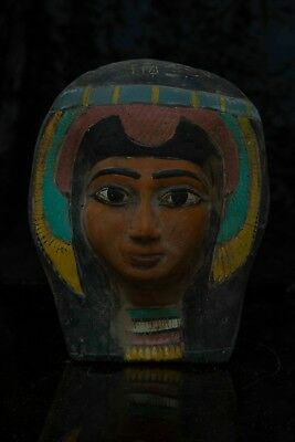 Ancient Egyptian Antiques Egypt Statue Hatshepsut Mask Pharaoh Stone 1473 BC