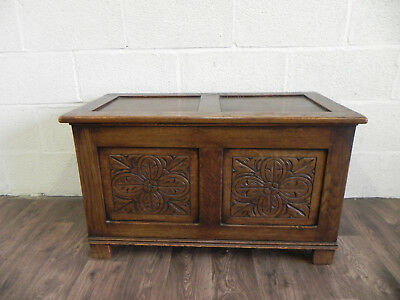 Vintage Oak Storage Box/Chest C.1940