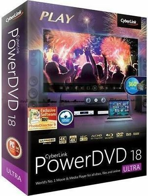 Cyberlink Power DVD 18 Ultra Full version.