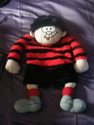 "Vintage 25""Inch Dennis The Menace PJ/Hotwater Bottle Holder Boots 1996 Preowned"