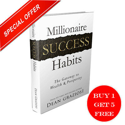 Millionaire Success Habits ebook Way to your success Free Shipping Resell Right
