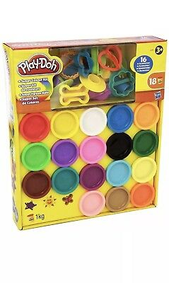 Play-Doh Super Rainbow Colour Kit 18 Tubs Dough Set Brand New Sealed CHEAPEST