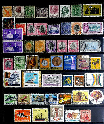 British Colonies, Commonwealth: Classic Era To 70's Stamp Collection