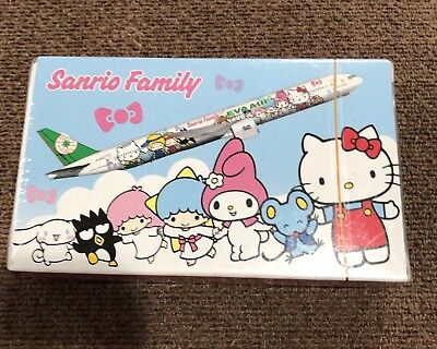 Fast Shipping Collectable Peice Hello Kitty x Eva Airline Play Card