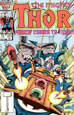 Thor (1st Series Journey Into Mystery) #371 1986 VG Stock Image Low Grade