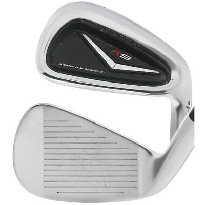 TaylorMade Golf Club R9 4-PW, AW Iron Set Stiff Steel Very Good