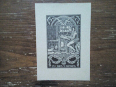 Exlibris Bookplate von Jose Triado Mayol Nr. 2