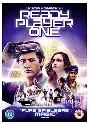 Ready Player One [DVD] [2018] [New DVD]