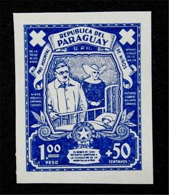 nystamps Paraguay Stamp Mint H Essay Proofs
