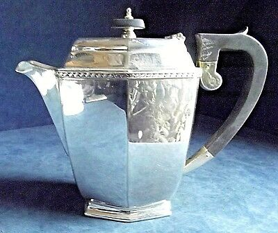 SUPERB Large ~ SILVER Plated ~ Bulbous Water / Juice JUG ~ c1920 ~ Ralph Pringle