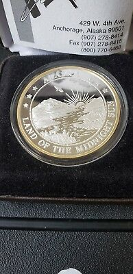 Silver, Uncirculated, 1oz, Alaska, Brilliant, Mint, certified