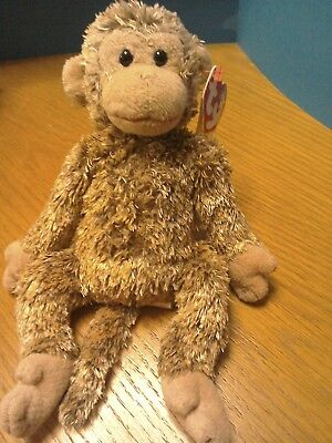Ty Beanie Baby Bonsai - The Monkey - Retired