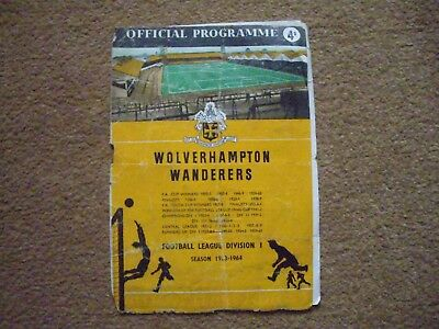 Wolverhampton Wanderers V Manchester United, 2/11/63