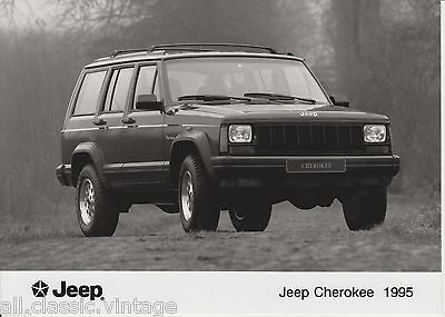 PRESS - FOTO/PHOTO/PICTURE - Jeep Cherokee 1995