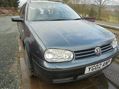 VW Golf Estate Car 2002