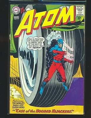 Atom # 17 G/VG Cond. cover detached by top staple