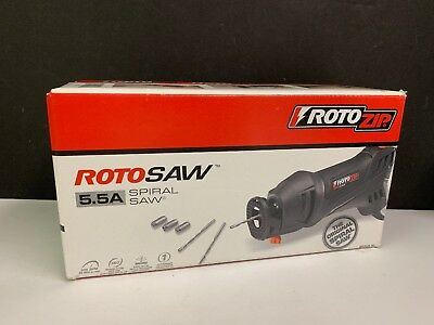 New Rotozip  5.5 A Rotosaw Spiral Saw Tool Ss355-10